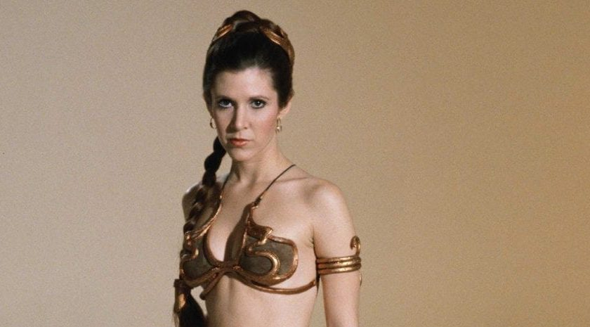 Carrie Fisher: tuve sexo con David Bowie. Creo