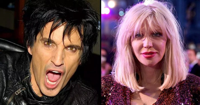 Courtney Love critica 'The Dirt' y Tommy Lee responde