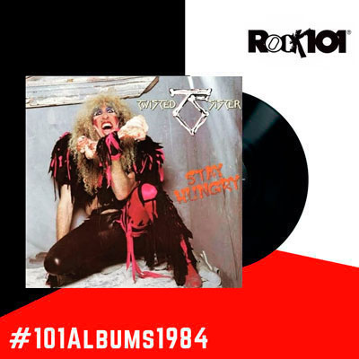 101 álbumes 1984 – Twisted Sister Stay Hungry – 01 de abril del 2019