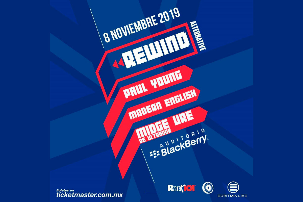 Rewind Alternative – Auditorio Blackberry