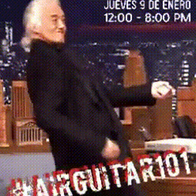 @LaPopLife #AirGuitar101