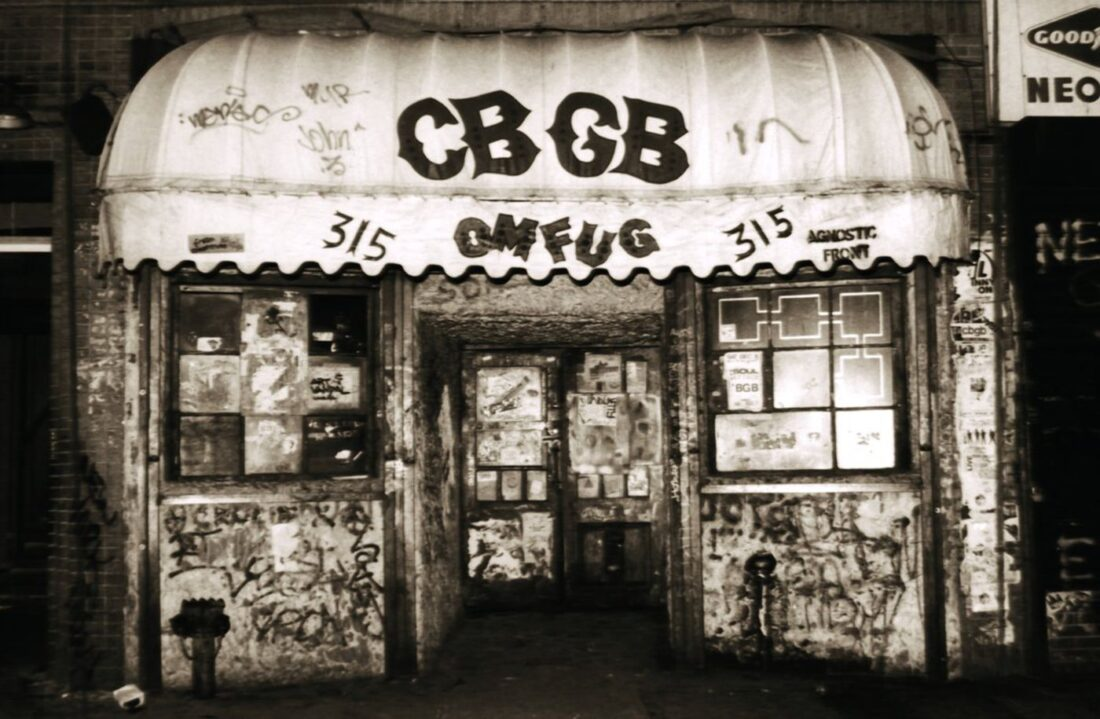 """""""A place full of sh*t!"""" – CBGB101"""
