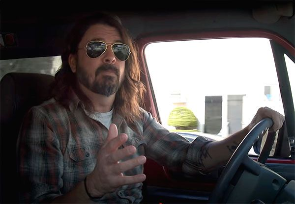 Dave Grohl anuncia el documental What Drives Us?